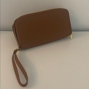 Faux Leather Wallet, like new!